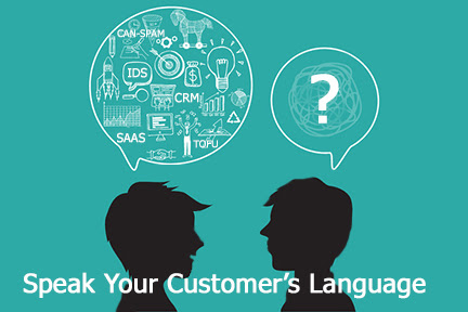 Communicate in Same Language As Your Customers @VirtualMarketer