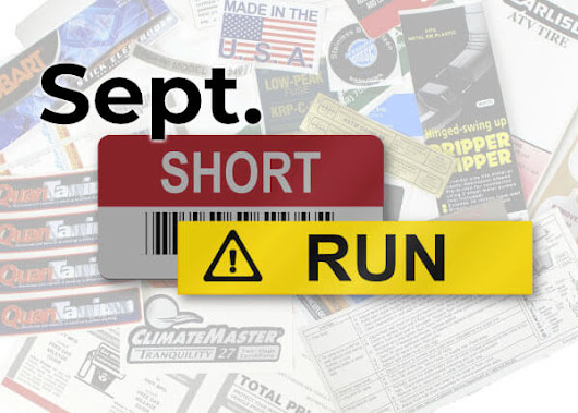 September Short Run Stories - MaverickLabel Blog