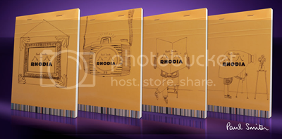 Limited Edition Paul Smith 'o9 Rhodia Pads 3