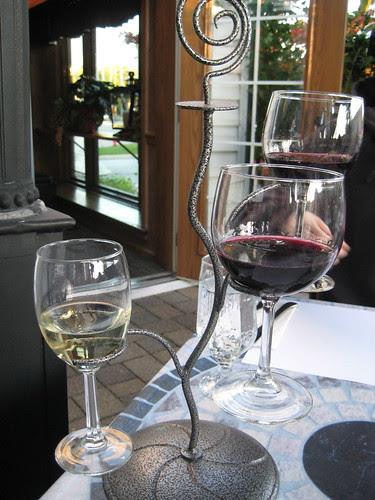 wine flight Ann's Italian Restaurant