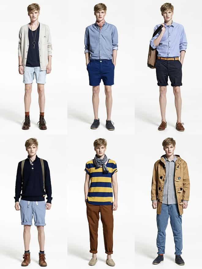 Men's Minimum Lookbook Spring/Summer 2012