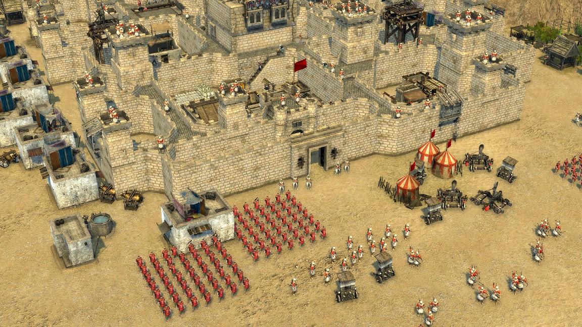 Stronghold Crusader Templar Duke-CODEX