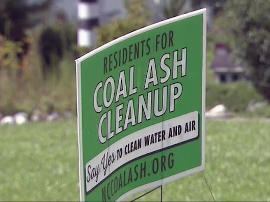 Environmentalists seek faster action, stricter rules on coal ash removal :: WRAL.com