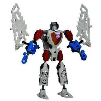 Transformers Construct-Bots Scout Class Starscream Buildable Action Figure