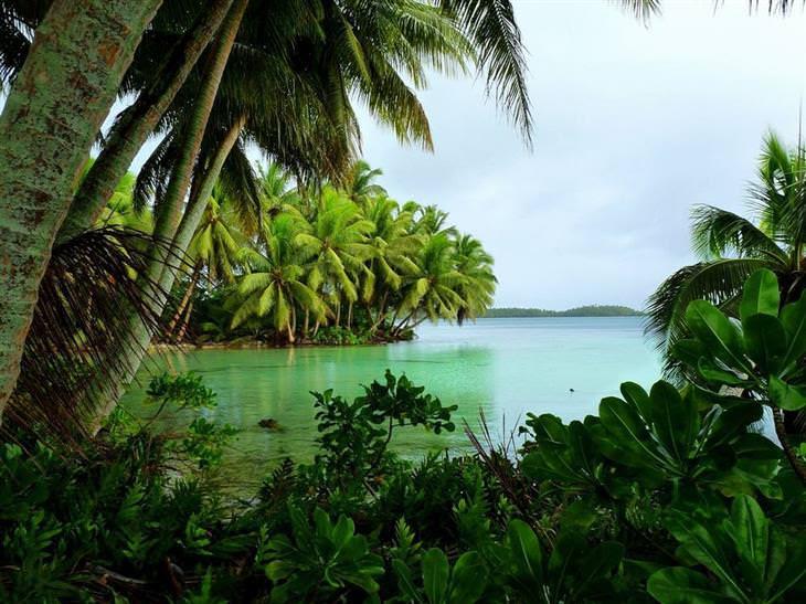 16 ilhas desertas paradisíacas