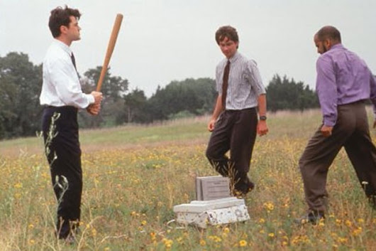The Office Space Printer Scene for No Reason Whatsoever
