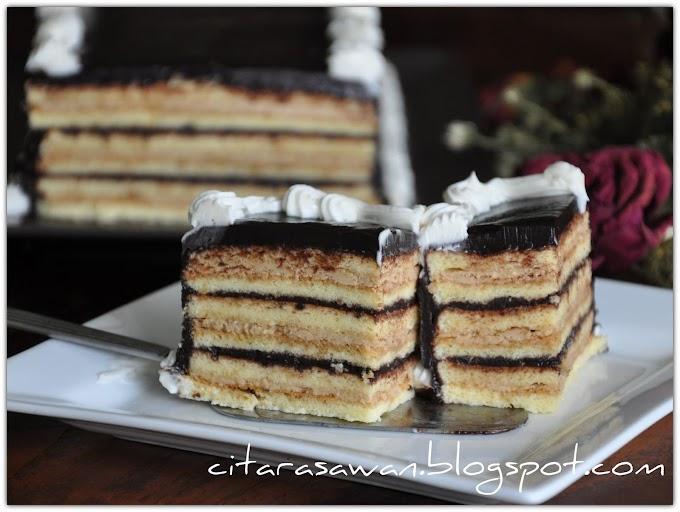 Resep Opera Cake Dapur Cokelat | Ide Rumah Minimalis