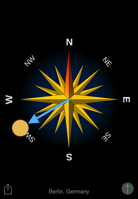 Sun Compass - New watch app for Apple Watch and Android Wear