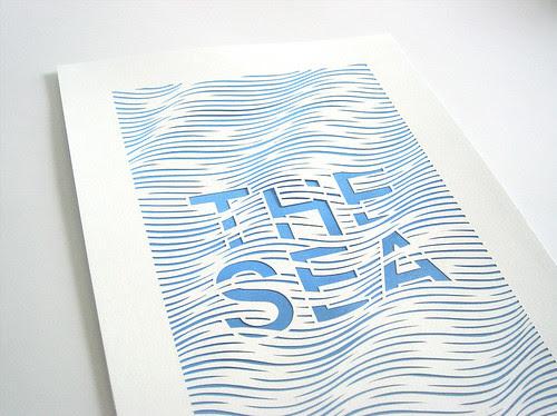 the-sea-paper-cutting