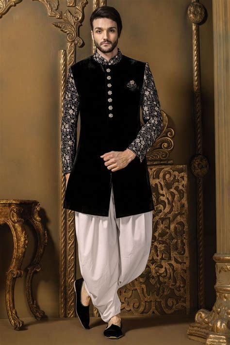 Designer Men's Sherwani on Rent on Behance   Indo Western