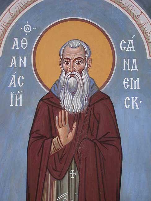 IMG ST. ATHANASIUS, Abbot of Syandemsk, Vologda