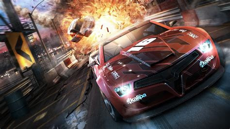 full hd wallpaper split  sports car explosion speed
