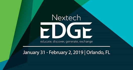 Nextech EDGE 2019 | Educate, Discover, Generate, Exchange