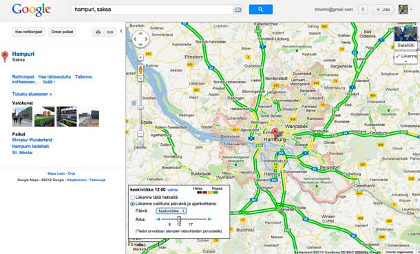 Kartta Google Maps
