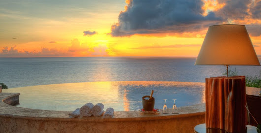 Romance in the Caribbean at Jade Mountain