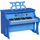 Schoenhut 2514BB 25 Key Two Toned Digital Table Top Piano, Blue