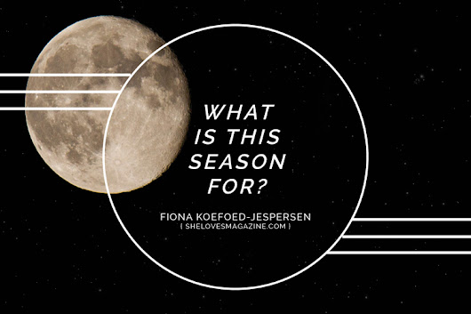 What Is This Season For? - SheLoves Magazine