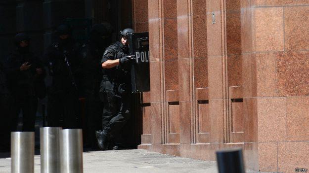Policía en Sidney