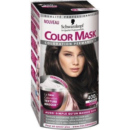 coloration permanente schwarzkopf color mask coloration permanente pour cheveux ch tain. Black Bedroom Furniture Sets. Home Design Ideas