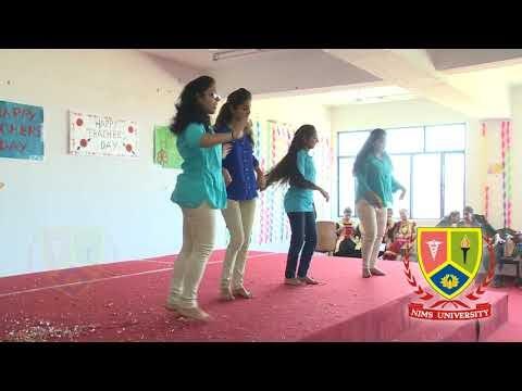 Duet Group Dance Performance : Bollywood Mix Songs | Teachers Day | Nims University Rajasthan