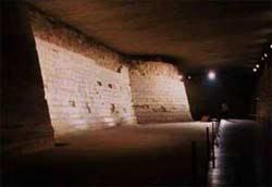 Рвы средневековой крепости.