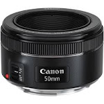Canon 0570C002 - 50 mm - f/1.8 - Fixed Focal Length Lens for Canon EF - Designed for Camera 49 mm Attachment - 0.21x Magnification