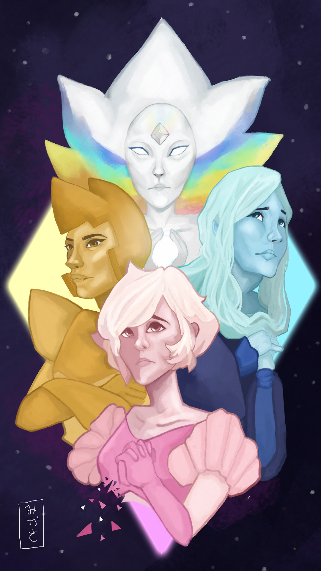 The Diamonds after so long! (This took forever to render and I wanna cry)