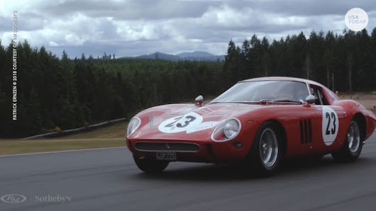 Coveted 1962 Ferrari has a $60 million price tag