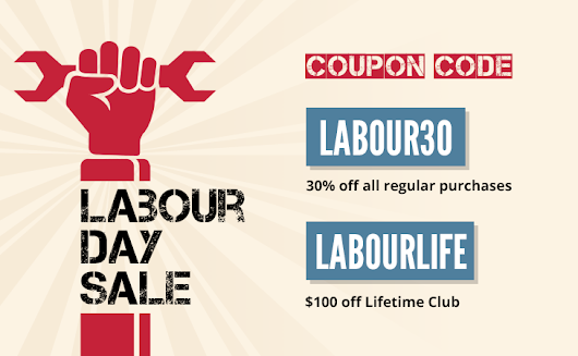 Save Big with our Labour Day Sale! • Themify
