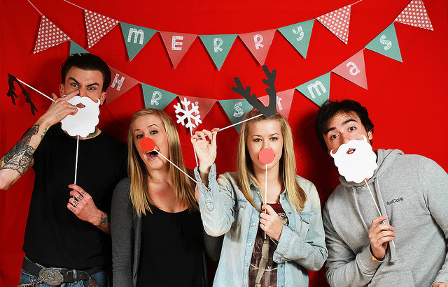Diy Christmas Photo Booth