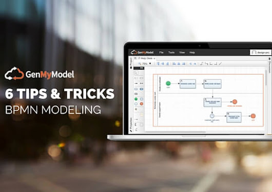 BPMN Modeling: 6 Tips to get the most out of GenMyModel