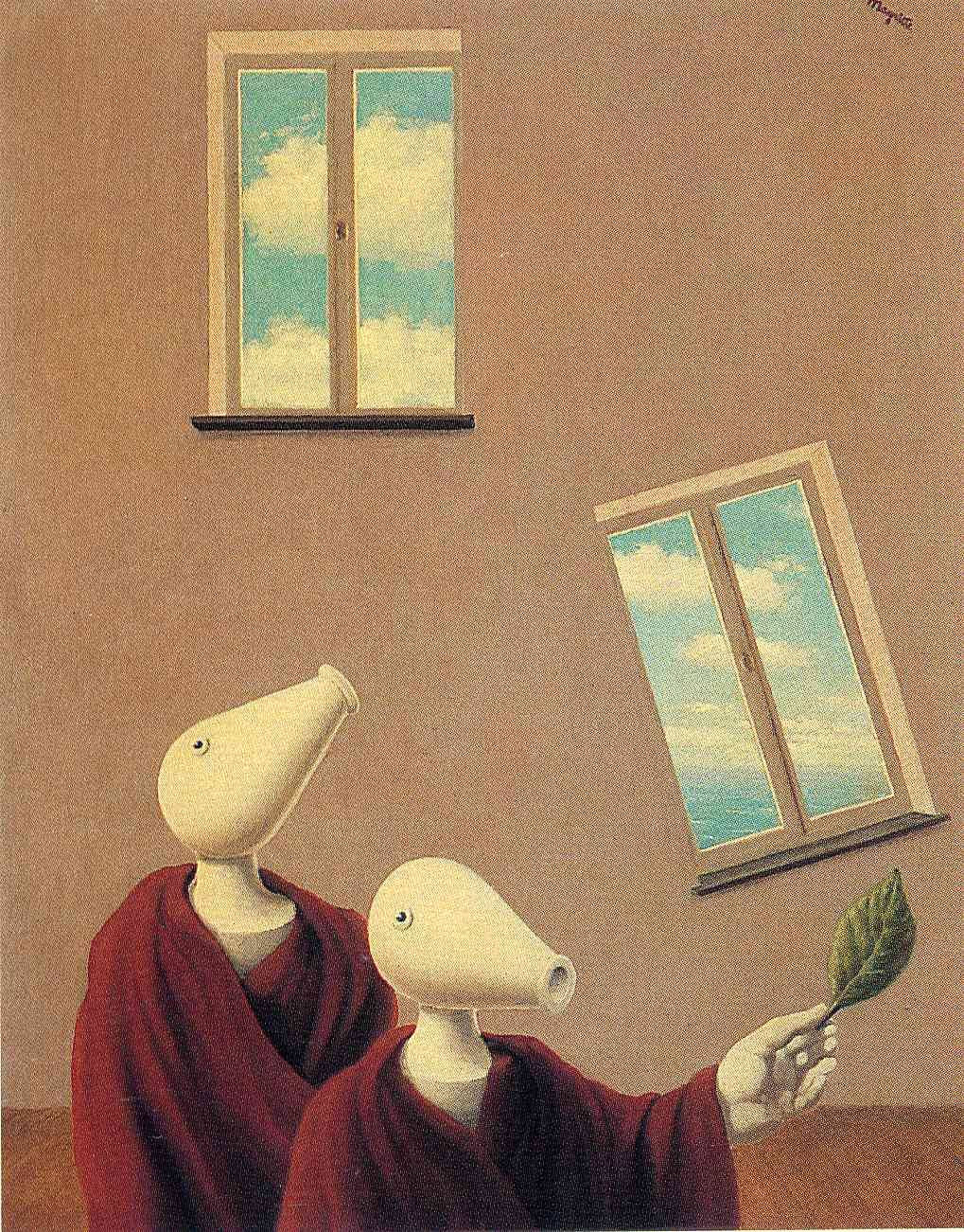 Natural encounters, 1945 Rene Magritte