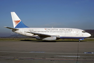 Croatia Airlines Boeing 737-230 9A-CTA (msn 22119) ZRH (Rolf Wallner). Image: 921114.