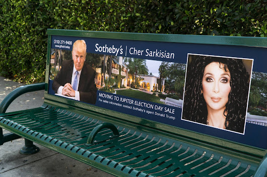 PHOTOS: L.A. street artist 'moving sale' posters for anti-Trump celebrities - The American Mirror