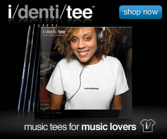 i/denti/tee - music tees for music lovers