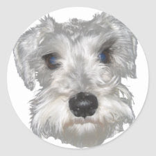 Terrier Sticker sticker