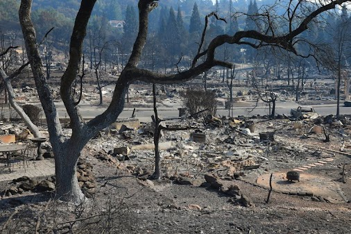 Cleanup From California Fires Poses Environmental and Health Risks #buffalo #mold #lead #asbestos #moldtesting...