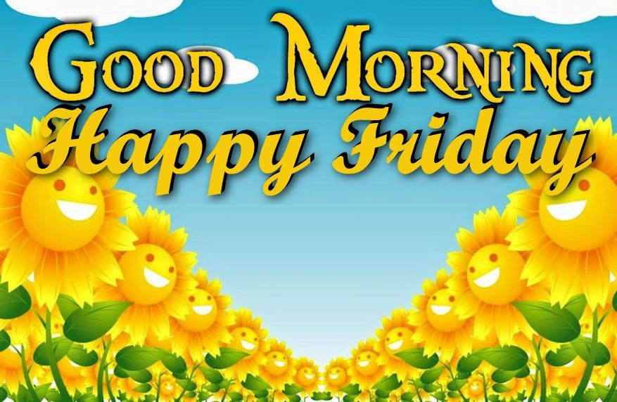 Good Morning Happy Friday With Cute Flowers Pictures Photos And