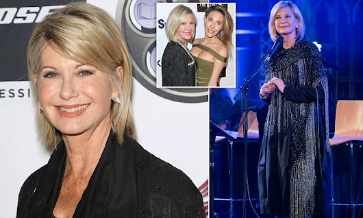Olivia Newton-John talks cannabis use for first time