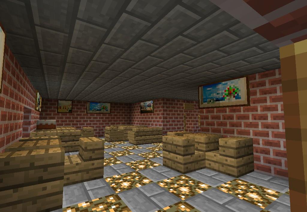 Minecraft cafe Minecraft Project