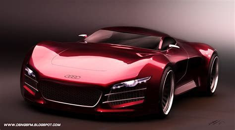 DSNG'S SCI FI MEGAVERSE: THE FUTURISTIC AUDI R10 SUPER SPORTS CAR!