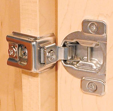 Cabinet Door Hinges Types