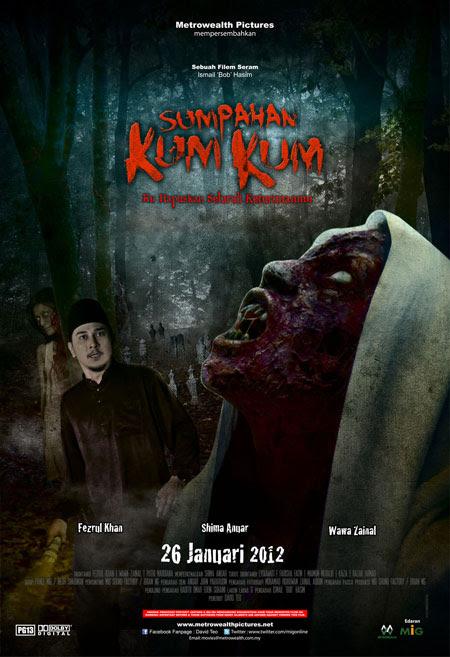 Poster Filem Sumpahan Kum Kum