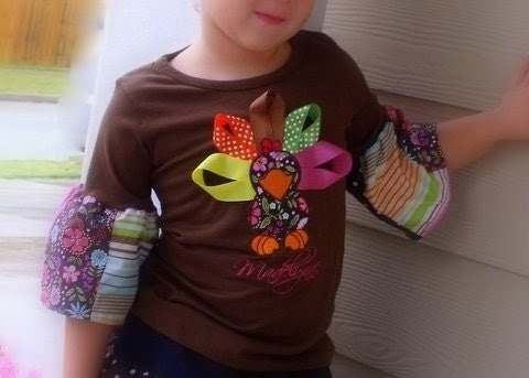 Easy SEW -  Riley Ruffle Sleeve T - Shirt - DIY - Do it Yourself - FROM YOUR OWN  FABRIC and T-Shirt - BUY 4 GET 1 FREE