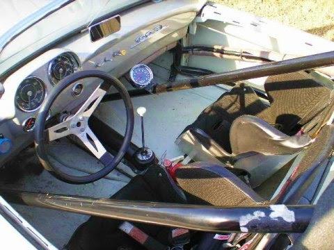 1957 Mercedes Benz 190SL Vintage Race Car Interior