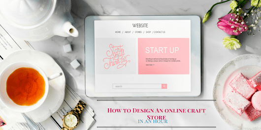 Create an Online Craft Store in under an Hour