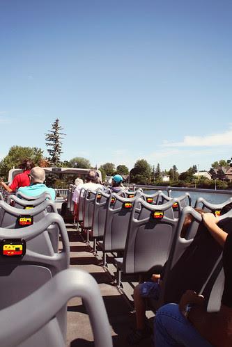double-decker bus tour