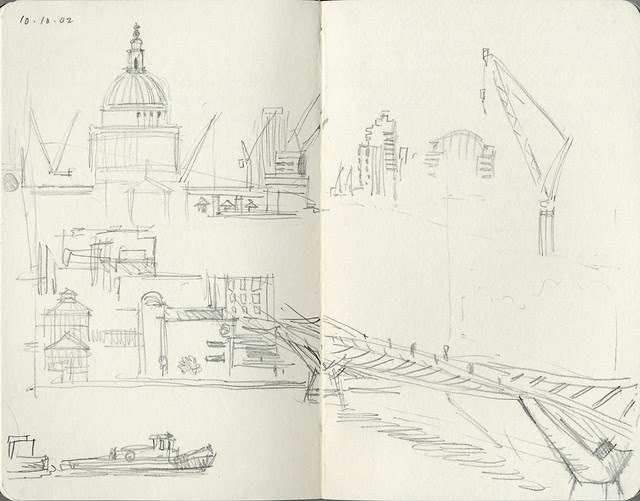 View from Tate Modern: October 2002