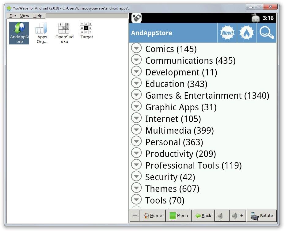 Como rodar programas do Android no Windows