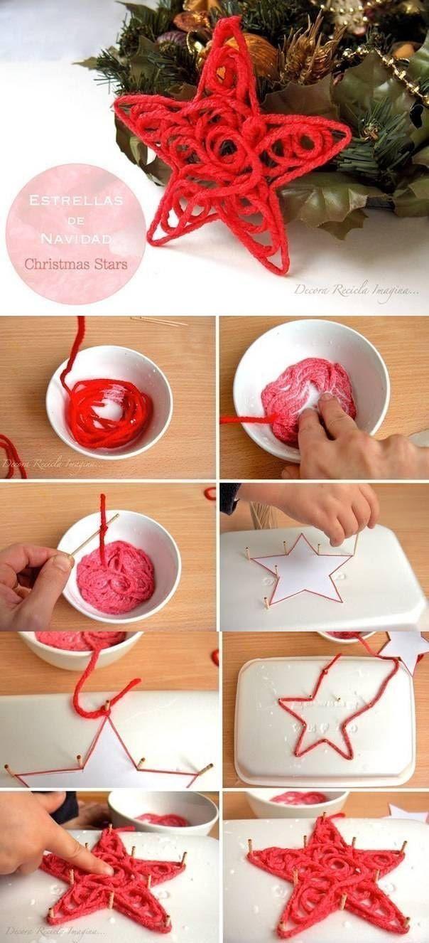 DIY Christmas Stars